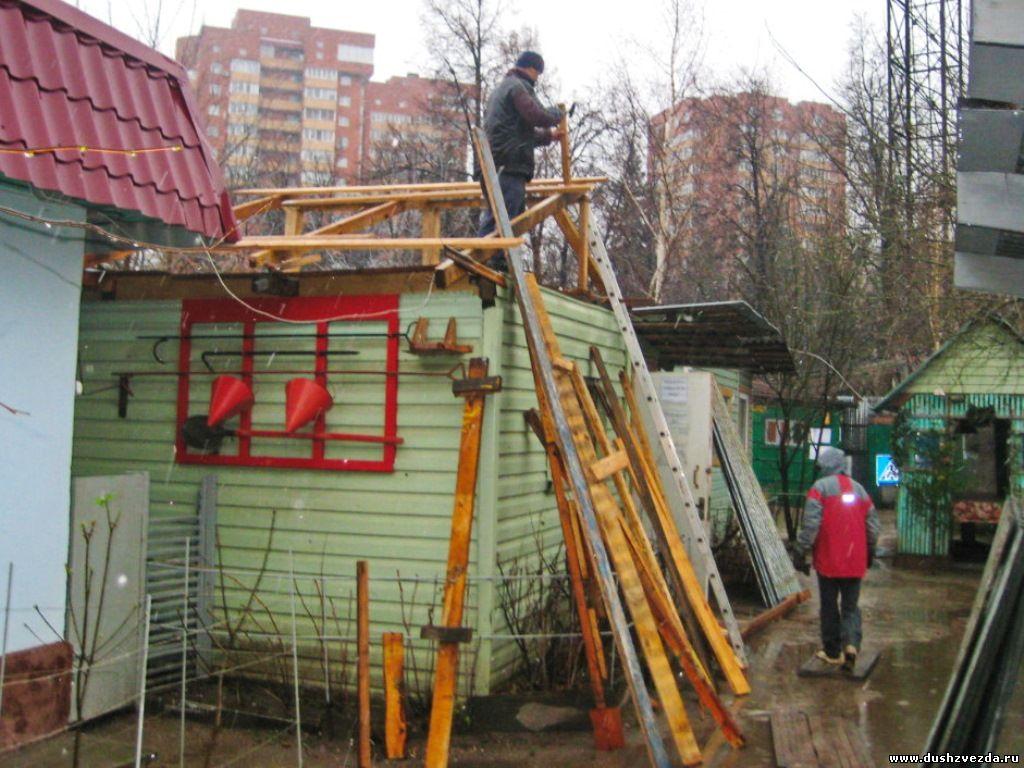ремонт раздевалки №5 стадион Звезда