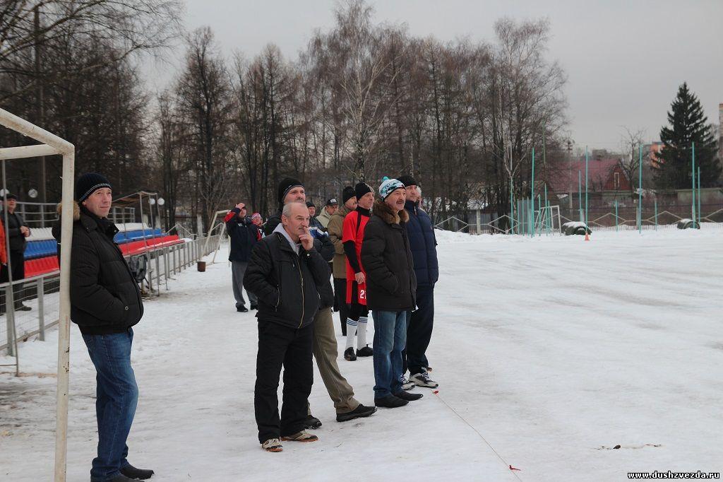 Зимнее первенство Люберецкого района среди ветеранов 50+, 15.02.2014 7 тур